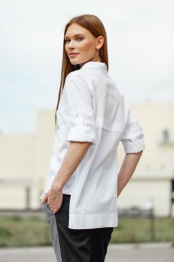 Рубашка белая женская 8-8